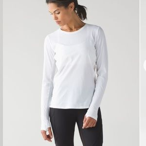Lululemon Run Sun Seeker Long sleeve